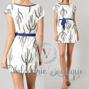 ValMarie Boutique Dresses - 📍CLEARANCE 📍Stunning Cactus Soft Mini Dress