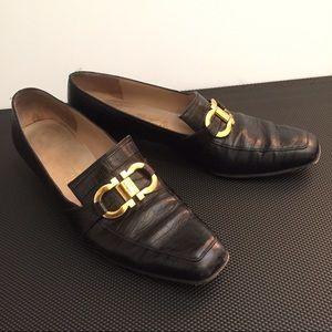Ferragamo Shoes - Salvatore Ferragamo Shoes Horsebit Horse Bit 8 AA