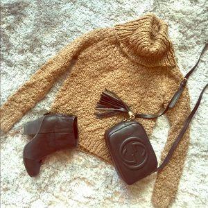 Vivienne Tam Sweaters - Vivienne Tam wool blend chunky turtleneck sweater