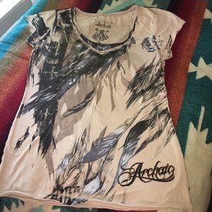 Archaic Tops - Archaic T-shirt Scoupneck