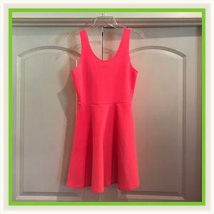 Neon Hot Pink Dress