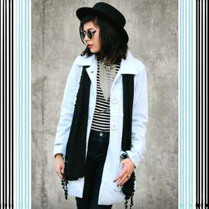 ROMWE Jackets & Blazers - 🌟Romwe light blue long jacket