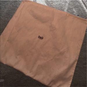 D&G Handbags - ⭐️D&G FABRIC DUST BAG 💯AUTHENTIC