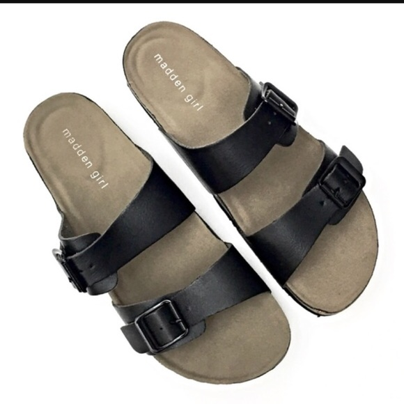7a570acc924 BRANDO Steve Madden / madden girl black Sandals
