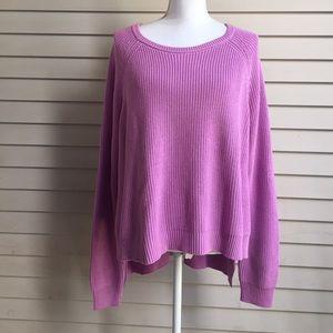Eloquii Sweaters - NWT Eloquii Lavender Hi-Lo Sweater