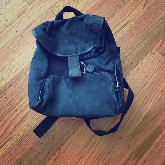 809fc62b78f Gucci Handbags - Gucci GG canvas backpack