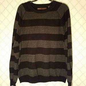 Perry Ellis Other - PERRY ELLIS Men's Striped Crew Neck Sweater
