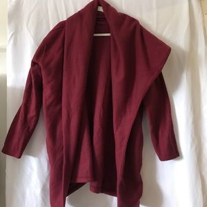 Sweaters - Oversized Long Sleeve Poncho