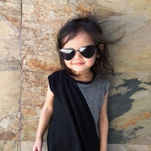 Other - • Love Heart Shaped Kids Sunglasses