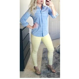 Rich & Skinny Denim - RICH & SKINNY buttercup yellow size 26 summer jean