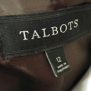 Talbots Jackets & Coats - Talbots Red and Pink Plaid Pea Coat Jacket