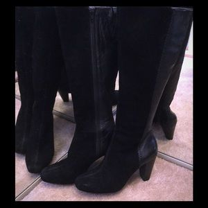 ANTONIO MELANI Shoes - Sexy black suede and leather boots