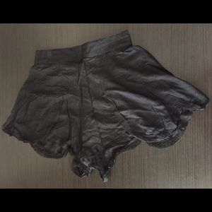 Flowy Black Urban Outfitters Shorts