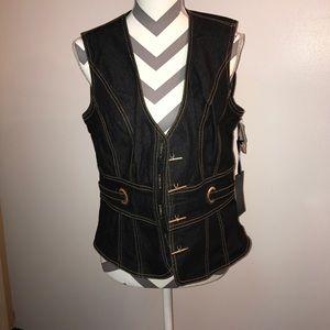 Bisou Bisou Jackets & Blazers - Bisou bisou vest