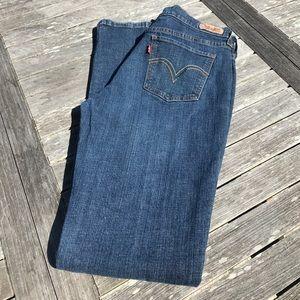 Levi's 515 Boot Cut Jeans 8 L Long