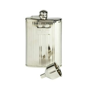 Rag & Bone Silver Hip Flask