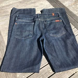 7 for all mankind Bootcut Jeans 25