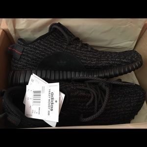 YEEZY BOOST 350 v2 BLACK WHITE Unboxing Review