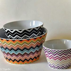 Missoni Mixing Bowls Set