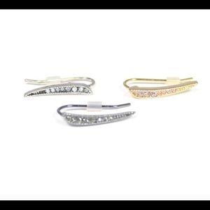 Sunahara Jewelry Jewelry - Silver Dagger earclimber