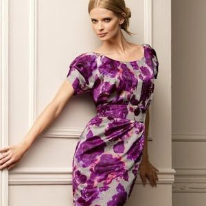 Dresses & Skirts - so Sex & the City silk floral cocktail dress