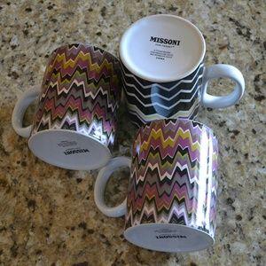 Missoni Other - Missoni Cafe - Set of 3 Mugs