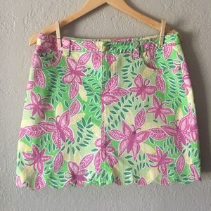 🎉 HOST PICK 🎉 Lilly Pulitzer scallop skirt