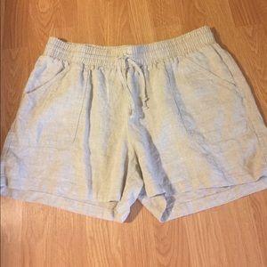 Allen Allen Pants - 🐷Beige Linen Shorts NWOT
