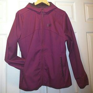 Jack Wolfskin Jackets & Blazers - Jack Wolfskin softshell hooded jacket Magentacolor