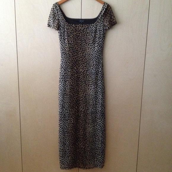 kookai leopard maxi dress long 1 or 34 animal NWT 0d1cf31d8