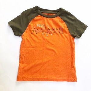 POLO RALPH LAUREN Orange brown T- Shirt