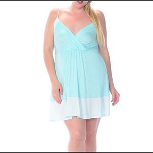 Bellino Clothing Dresses & Skirts - JUST IN! Pretty mint plus size summer dress