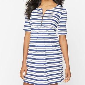 Isabella Oliver Dresses & Skirts - Isabella Oliver Striped Maternity Dress