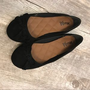 Girls sz.2 black flats NWOT