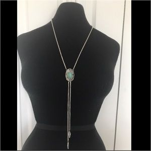Jewelry - Turquoise Bolo Necklace