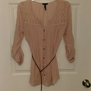 Belted Top