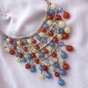 Jewelry - Multicolor Summer Spring Bib Necklace