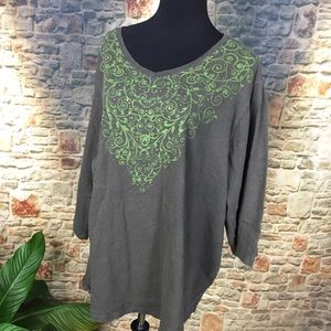 Catherines Tops - Catherine's Shirt, size 4X