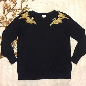 Altuzarra Sweaters - Altus arts for Target Crane Embroidered Sweater