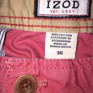 Izod Other - Salmon Izod cargo shorts