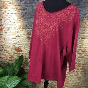 Catherines Tops - Catherine's T shirt, size 4X