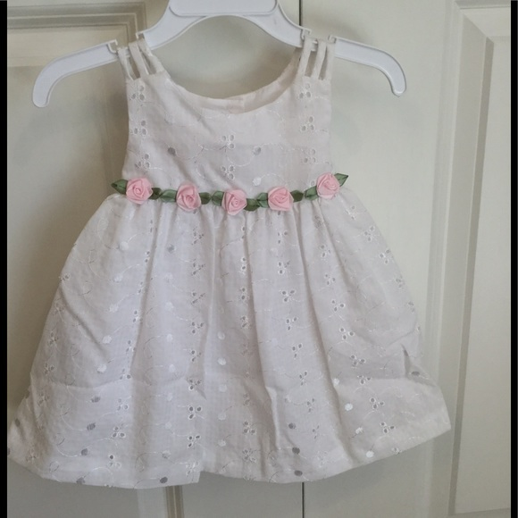 aec9e9428e93 NWT Bonnie Jean Baby Girl Dress