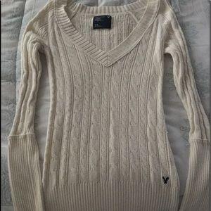 AEO Cream sweater