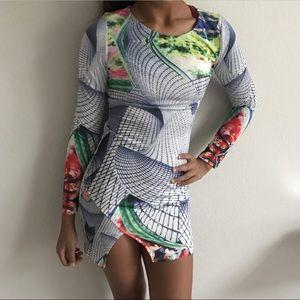 Asos Dresses & Skirts - Boutique mod floral design mini dress