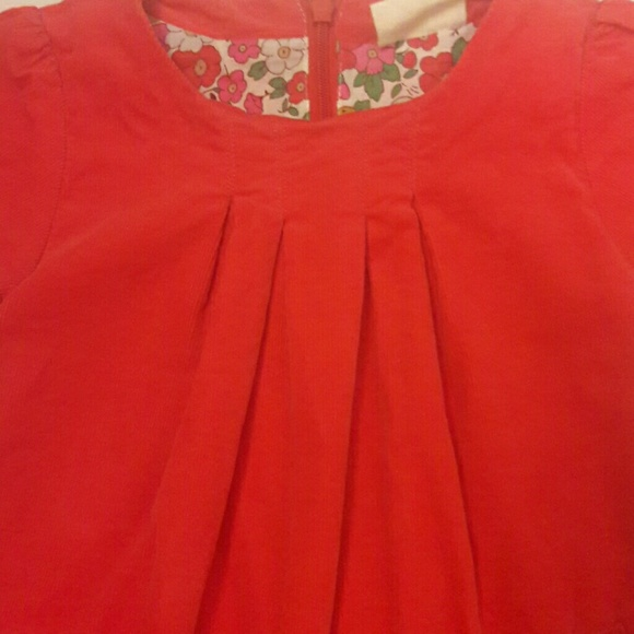 50 off mini boden other red corduroy boden dress with for Mini boden shop
