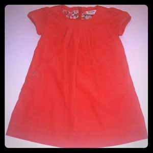 Mini Boden Other - Vintage Style Boden Corduroy Dress with pockets