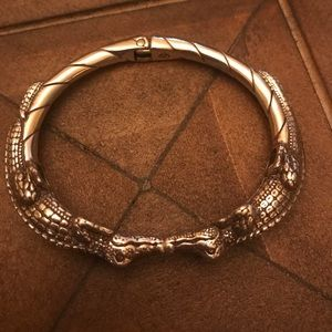 Brighton Jewelry - Brighton alligator bangle bracelet