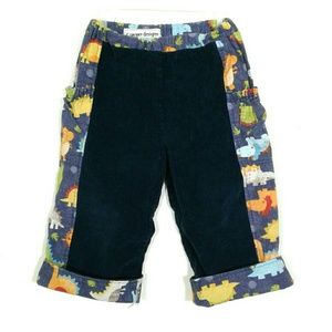 Toddler dinosaur corduroy pants