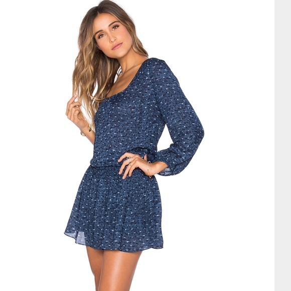 ff8668a2b1 NWT Joie Deep Chambray Bain Dress