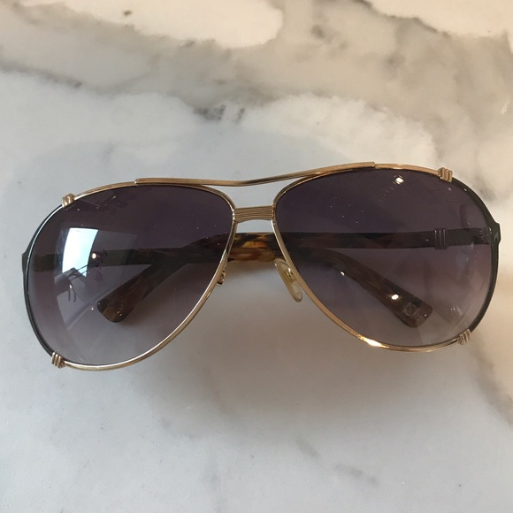 c3d853a82b97 Dior Accessories - Auth. Vintage Dior Chicago 2 S Aviator Sunglasses!